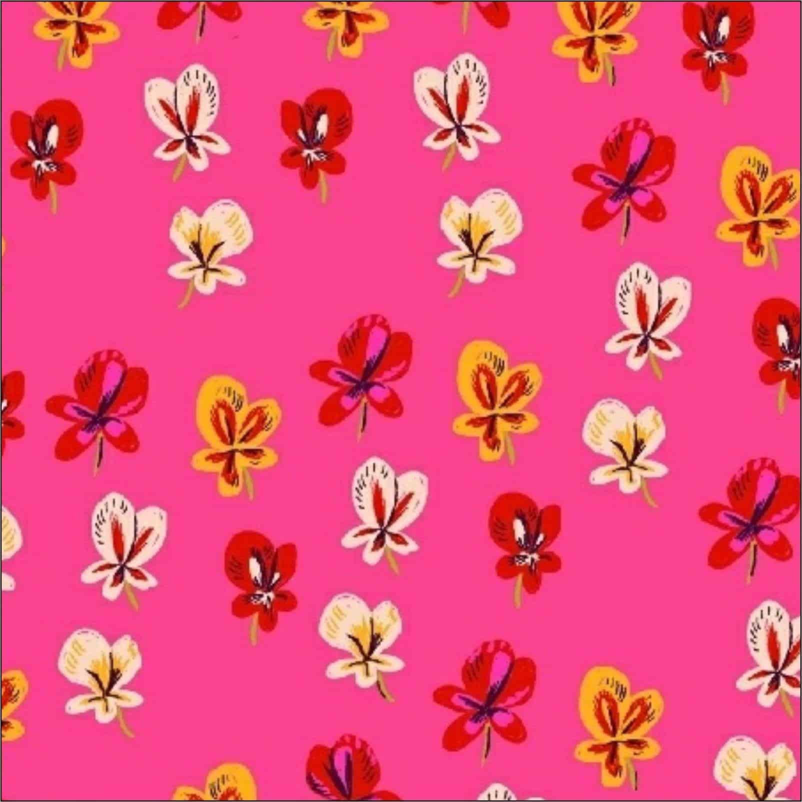 Dressmaking Fabric | Windham Sleeping Porch Pink Fabric | More Sewing