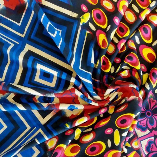 Crazy Tile Stretch fabric for dressmaking from More Sewing