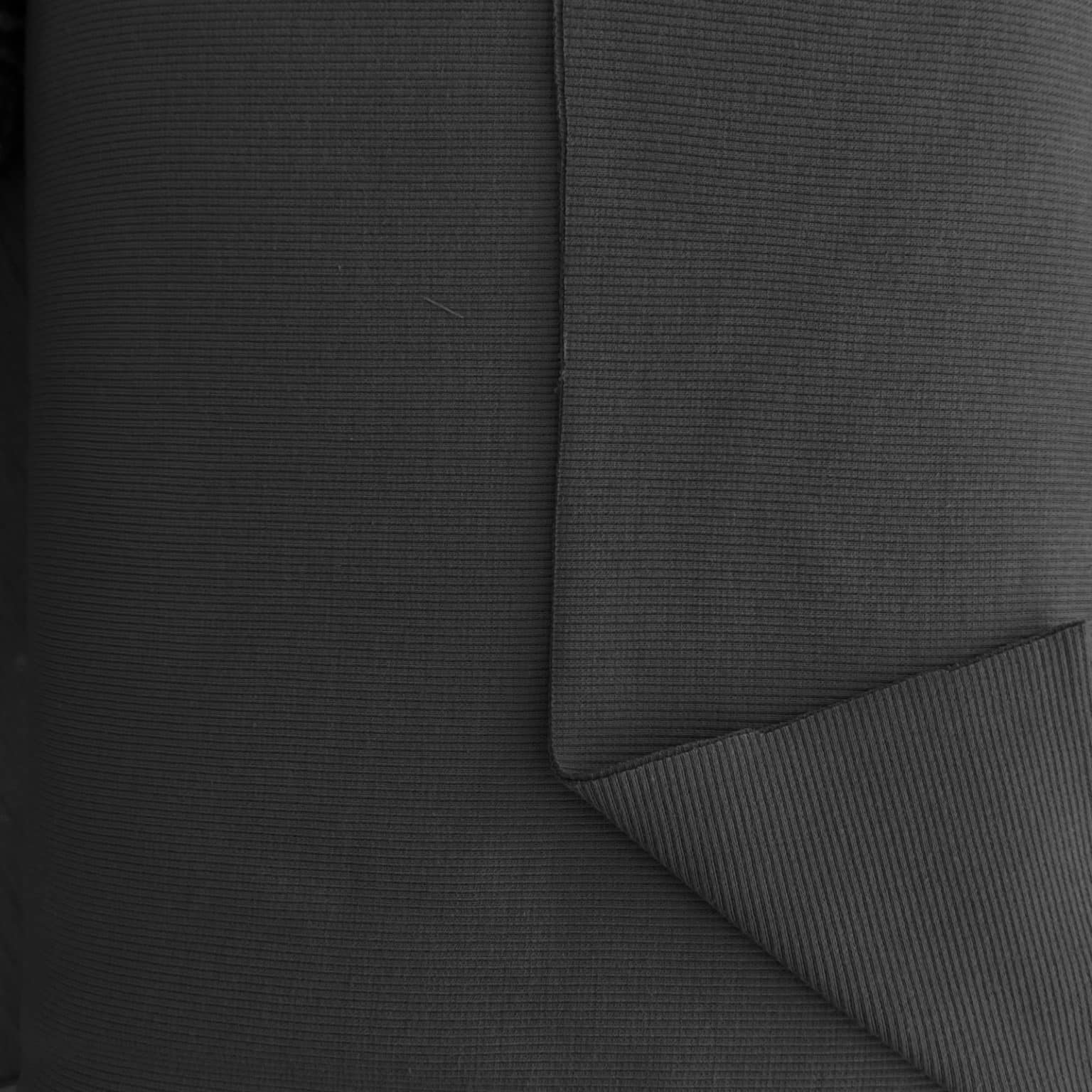 jersey fabric | Jersey Ribbing Cuffing Black | More Sewing
