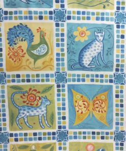 Azuli Tile   Cotton Fabric   More Sewing